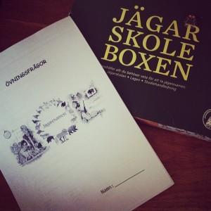 Jägarexamen 2014 på Öknaskolan