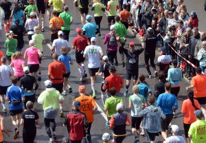 Start - Stockholm Marathon - 2014